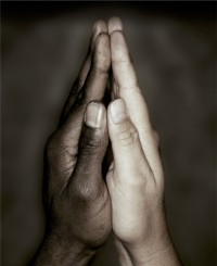 black-hand-white-hand-praying